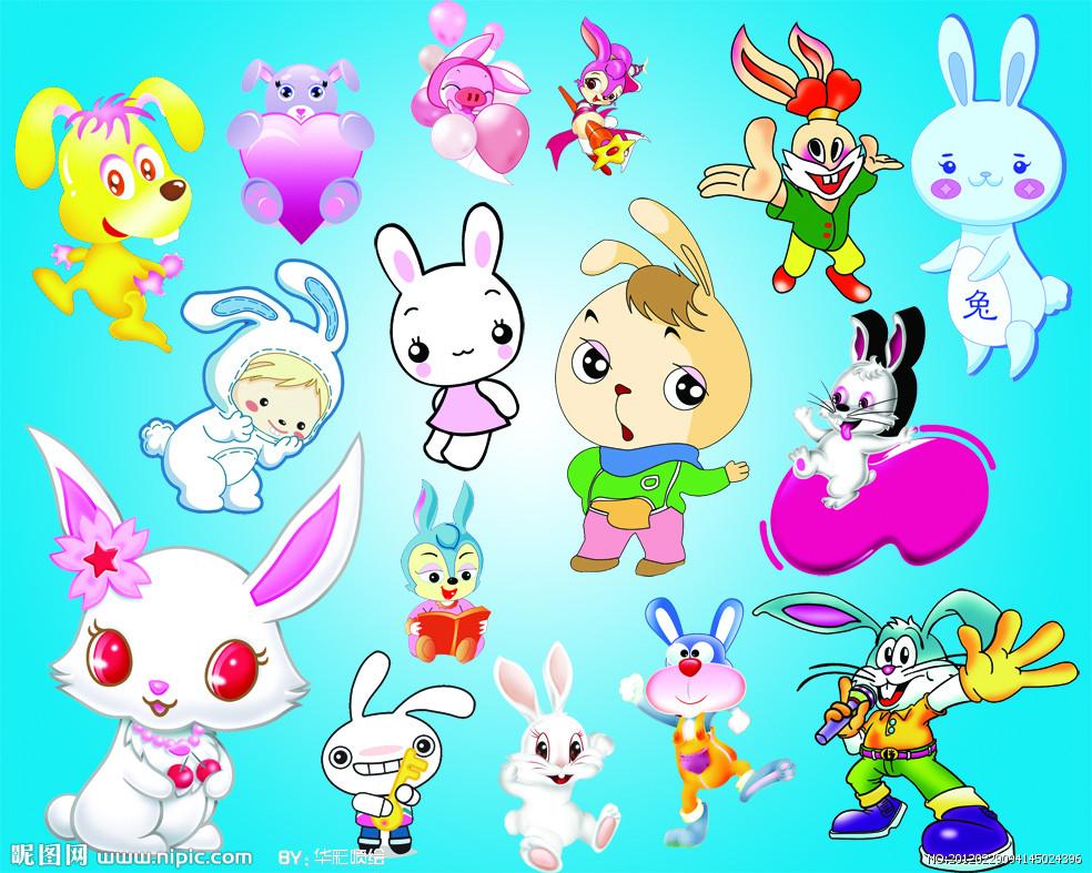 可爱兔子图片头像