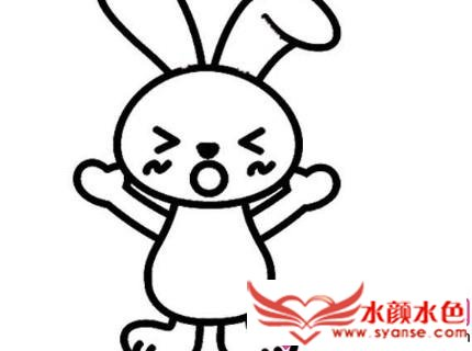 可爱兔子简笔画大全